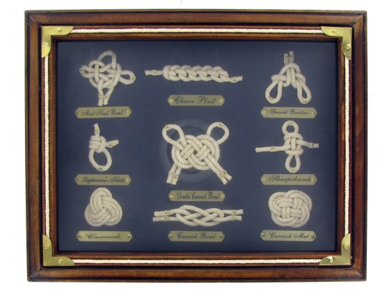 Sailor Knots Shadow Box