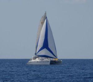 Aphrodite, St Francis 50 catamaran