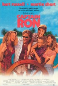 Poster from the 1992 movie, Captain Ron