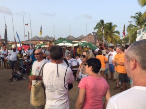 Beer garden tonight at the Antigua Yacht Club