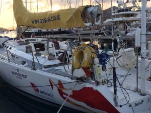 SV Spirit of Juno, Falmouth Harbour, Antigua
