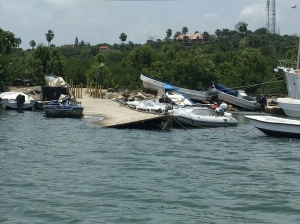Government dinghy dock in Luperon, DR.