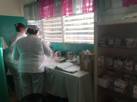 Nurses at the hospital in Luperon.