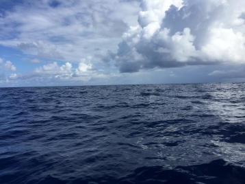 Calm seas in the Mona Passage